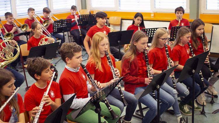 Probe als Orchester